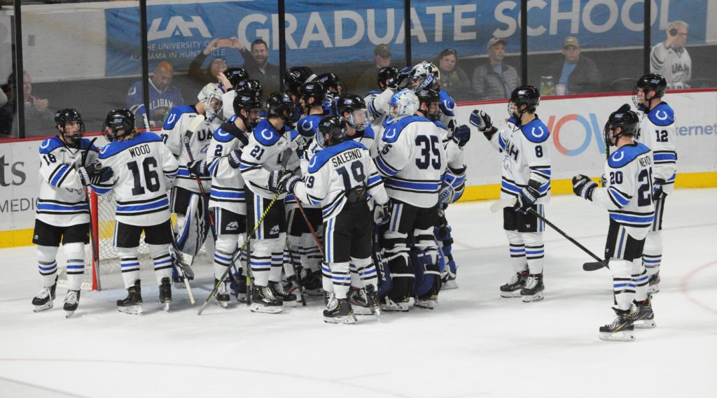 With roster full of youngsters, Alabama Huntsville charging forward as 'guys are getting it'