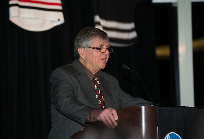 BOSTON, MA - MARCH 15: The 2018 Hockey East Men's Championship Banquet at the Royal Sonesta Boston Hotel on March 15, 2018 in Cambridge, Massachusetts. (Photo by Rich Gagnon) (Rich Gagnon/Hockey East Association)