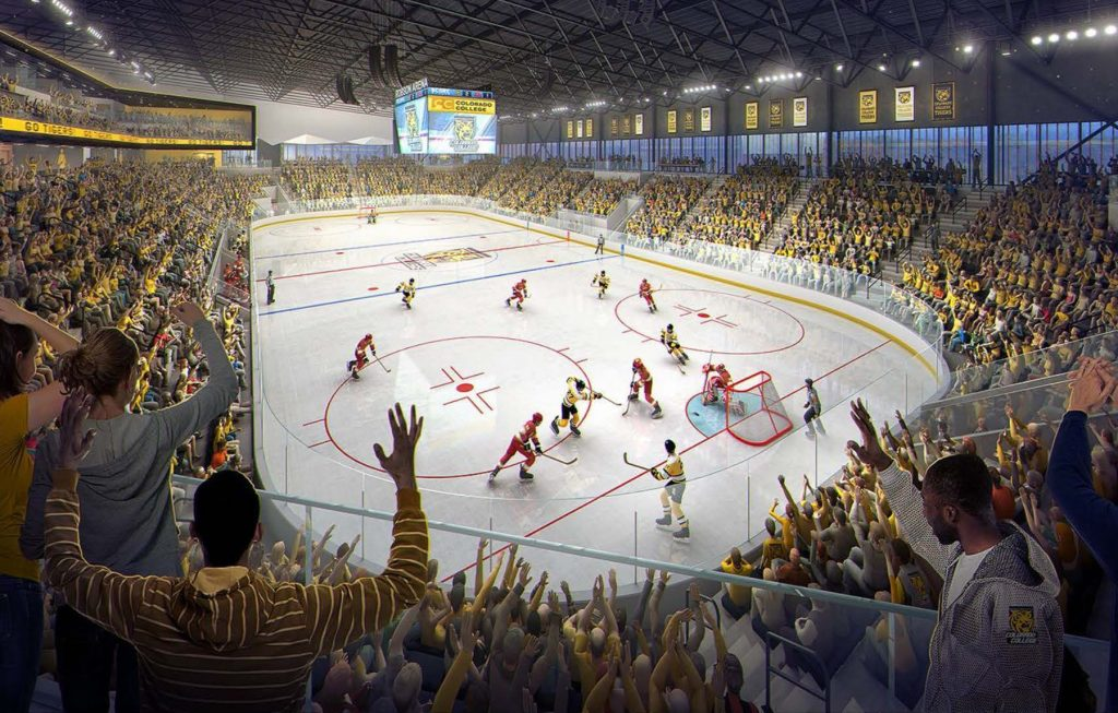 Colorado College's Robson Arena officially approved, opening set for fall 2021