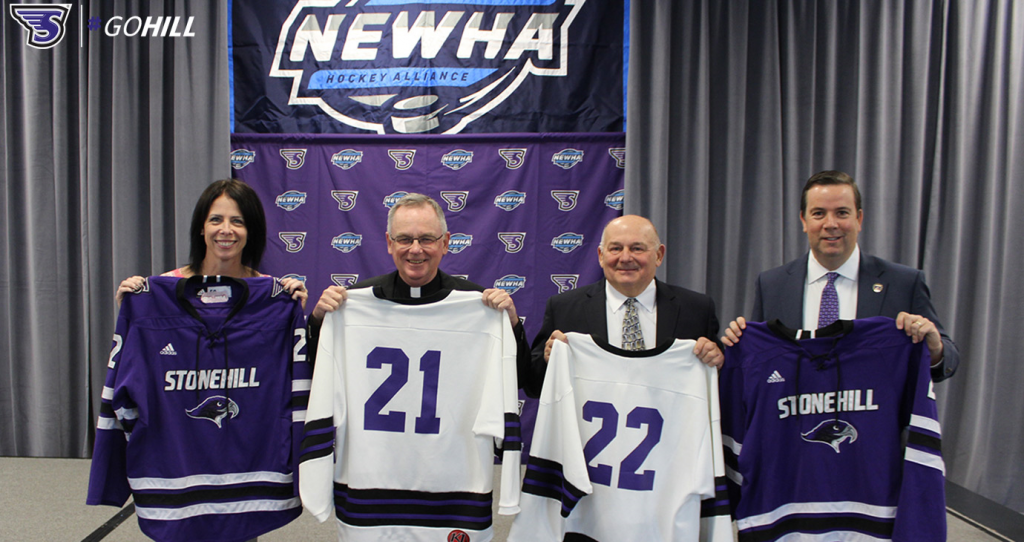Stonehill announces addition of women's hockey, will join NEWHA for '21-22 season