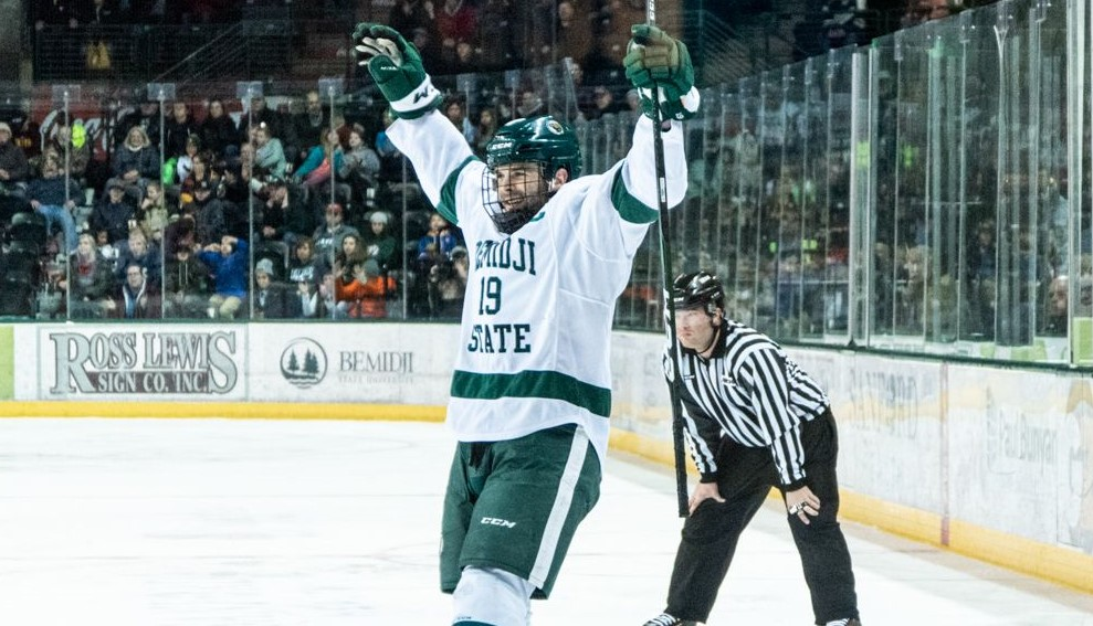 With offense kicking into high gear for Bemidji State, Beavers forwards proving to be 'extremely skilled' bunch
