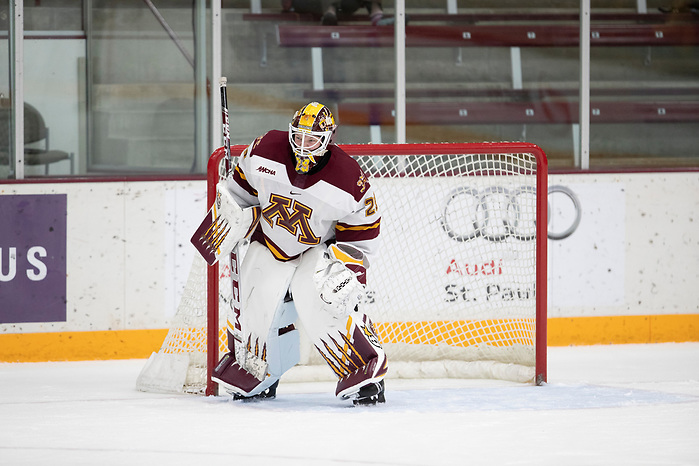 27 Sep 19:  The University of Minnesota Golden Gophers host the Colgate University Raiders in a non-conference matchup at Ridder Arena in Minneapolis, MN. (Jim Rosvold/University of Minnesota) (Jim Rosvold/University of Minnesota)