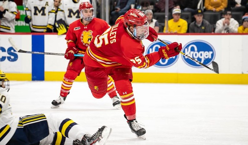 Willets a bright spot for Ferris State as Bulldogs look to stay in WCHA playoff picture