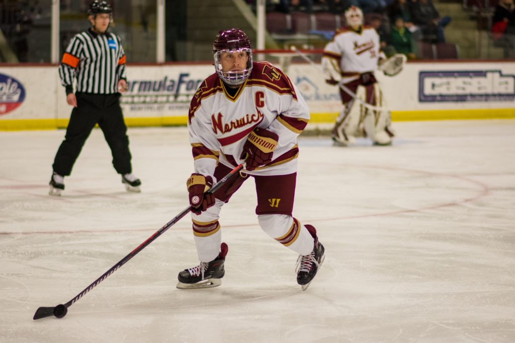 Norwich hockey captains adding different perspectives to leadership role