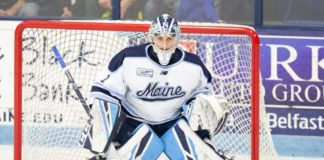 After leading resurgent Maine squad during '19-20 season, Swayman wins Mike Richter Award as nation's top goalie
