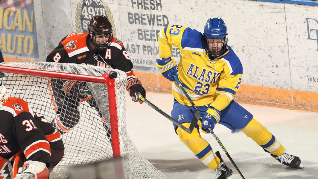 This Week in WCHA Hockey: Nanooks hoping power play stays strong hosting opening-round playoff series with Bowling Green