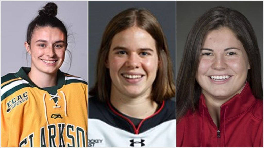 Giguere, Mueller, Roque selected as three finalists for 2020 Patty Kazmaier Memorial Award
