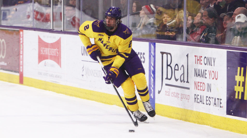 SIMULATION: MAVS MIRACLE! Minnesota State overcomes late North Dakota goal, captures national title in overtime on Mackey goal