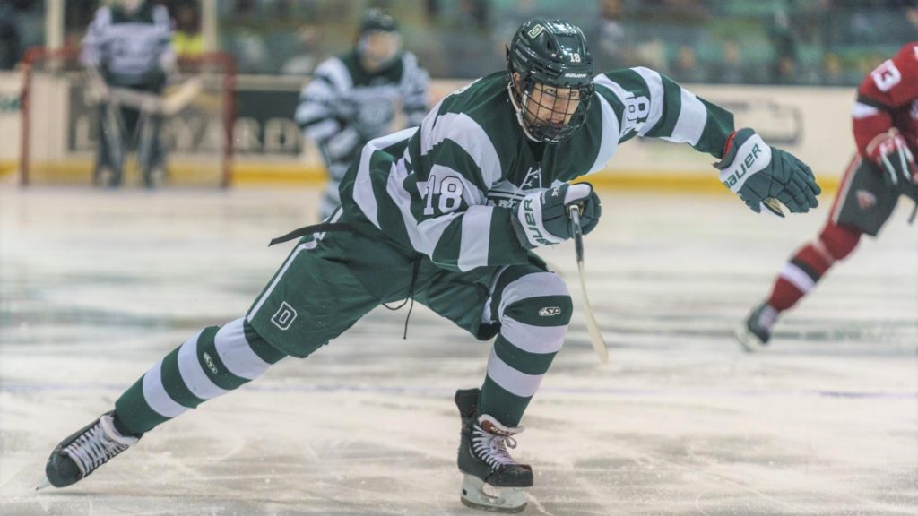 Dartmouth leading scorer O'Connor forgoes last two seasons, signs NHL deal with Penguins