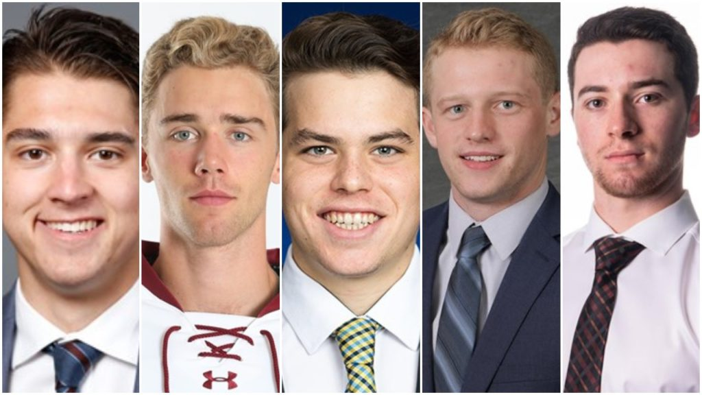 Galajda, Knight, Mann, McKay, Swayman named finalists for 2020 Mike Richter Award as top D-I men's goalie