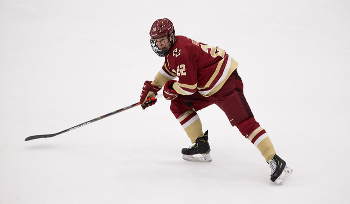 DURHAM, NH - NOVEMBER 1: Aapeli Räsänen #22 of the Boston College Eagles. The Boston College Eagles visit the New Hampshire Wildcats during NCAA men's hockey at the Whittemore Center on November 1, 2019 in Durham, New Hampshire. The Wildcats won 1-0 in overtime. (Photo by Rich Gagnon/USCHO) (Rich Gagnon)