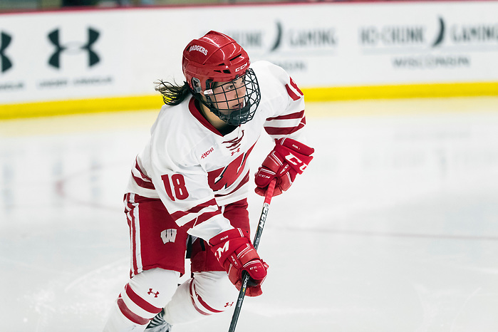 Abby Roque of Wisconsin. (Photo by David Stluka) (David Stluka)