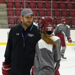 Greg Fargo Colgate Women's Hockey