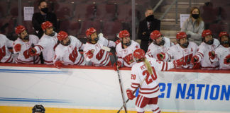 Wisconsin Women 2021 NCAA quarterfinal