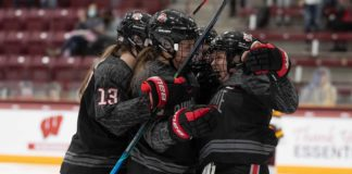 Ohio State women WCHA Final Faceoff 2021